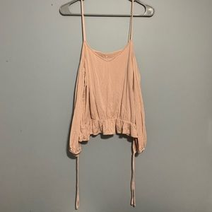 Soft pink AE top